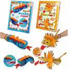 Make Your Own Lion/Dragon hand puppet